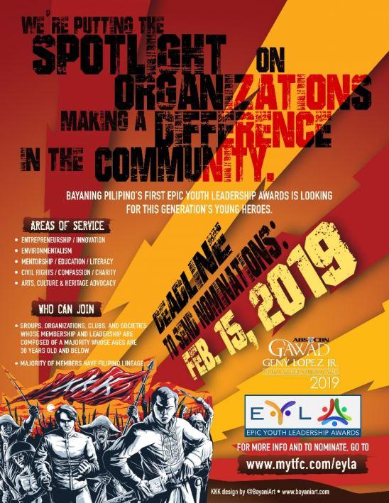 EYLA-Epic Youth Leadership Awards