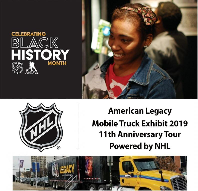 NHLxALN mobile truck tour