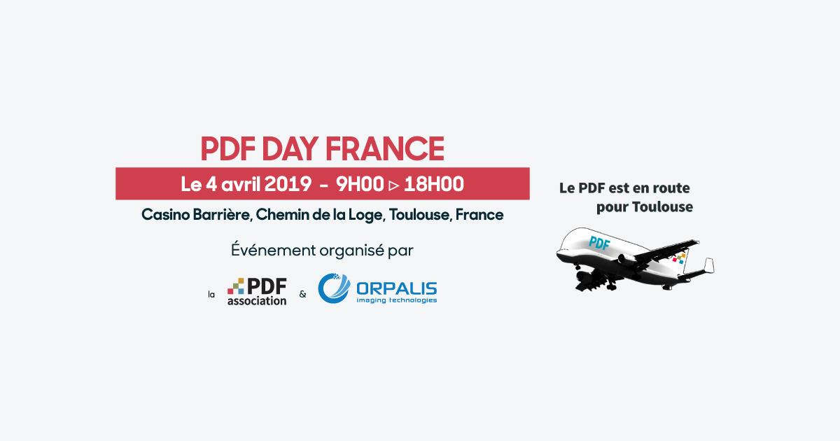 PDF Day France