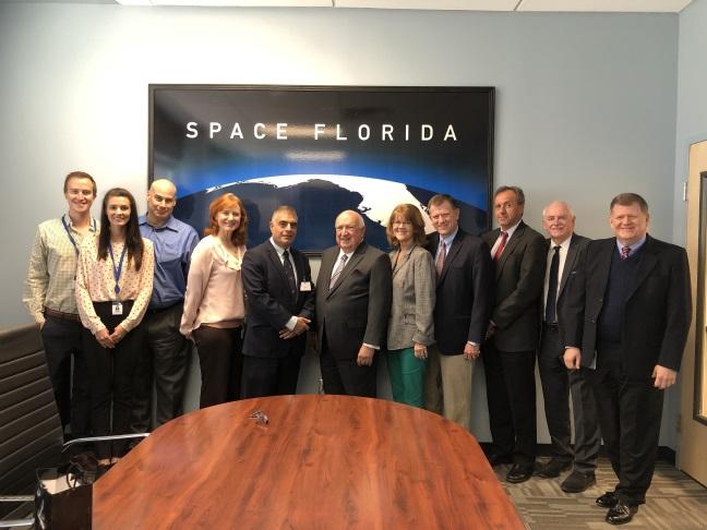 X-MAT, Space Florida team and Israel Shamay