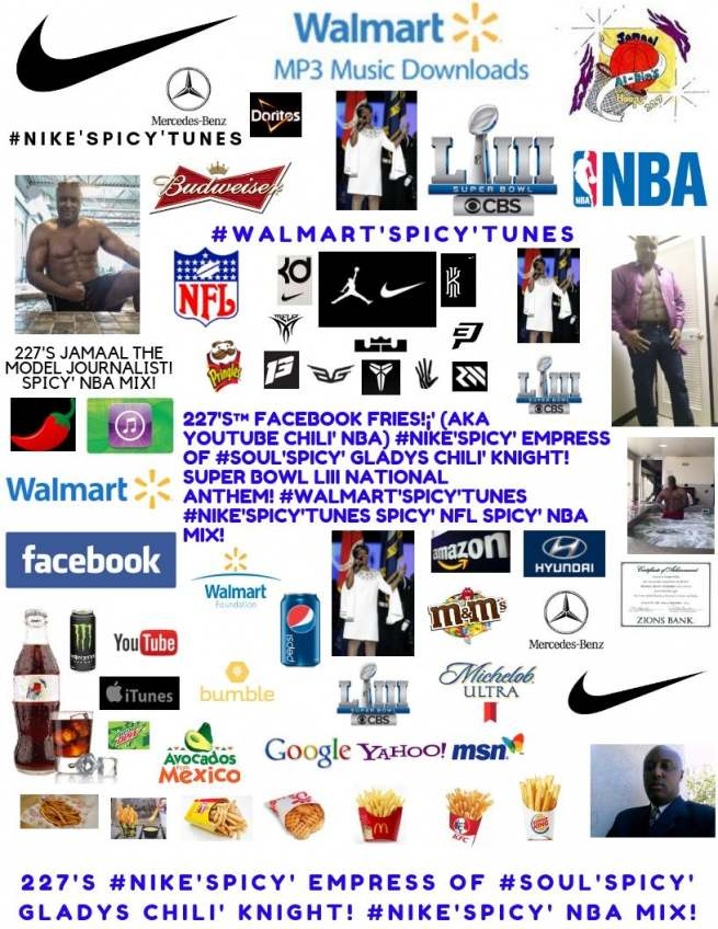 227's™ #Nike'Spicy' Empress of #Soul'Spicy' Gladys Chili' Knight! NFL NBA Mix!