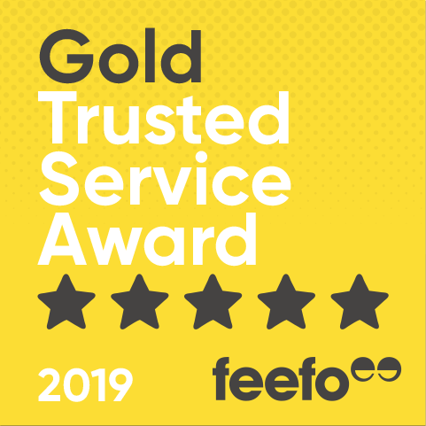 Feefo Award logo.