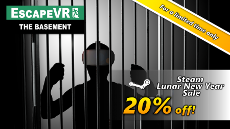EscapeVR The Basement -Lunar New Year Sale