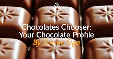 New Chocolates Chooser - astrology gives your chocolate profile by zodiac sign!
