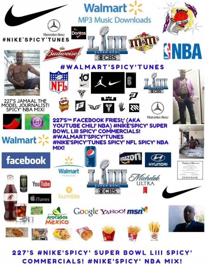 227's™ #Nike'Spicy' Hyundai USA #SuperBowlLIII Spicy' NFL Spicy' NBA Mix!
