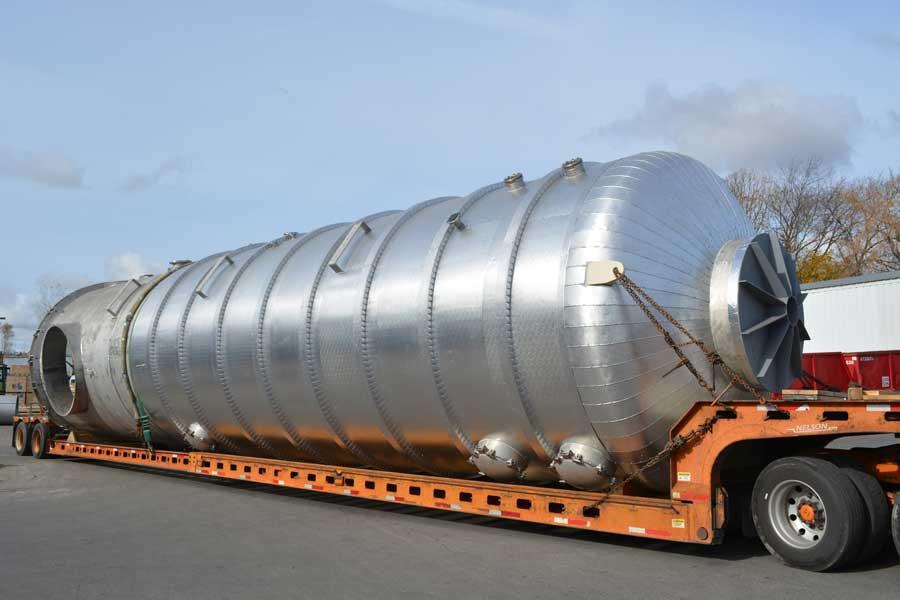 Robinson  Metal ASME pressure vessel