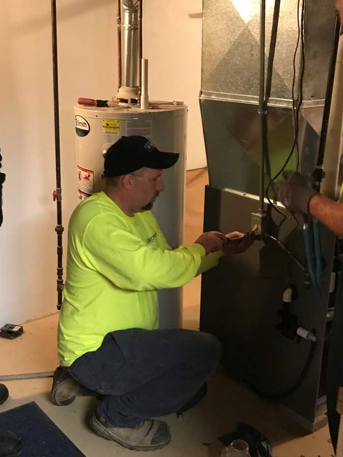 Robinson residential furnace repair