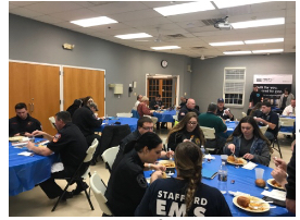 Feb 5 Appreication and Member Orientation Dinner held at Stafford EMS