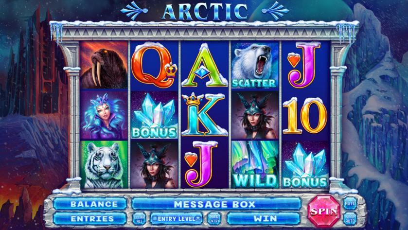 """Online slot machine for SALE – """"Arctic"""""""