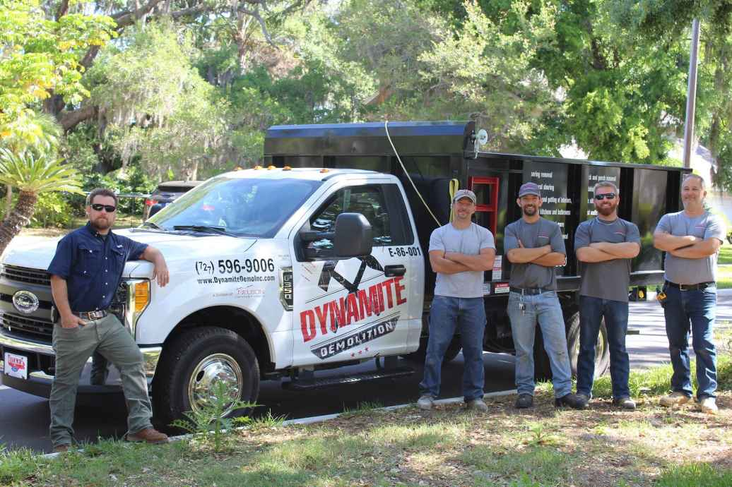 Dynamite Demolition Services Inc. ready to handle your demolition needs.