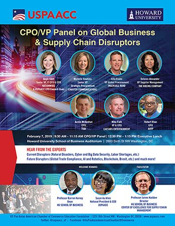 CPO/VP Panel on Global Business & Supply Chain Disruptors
