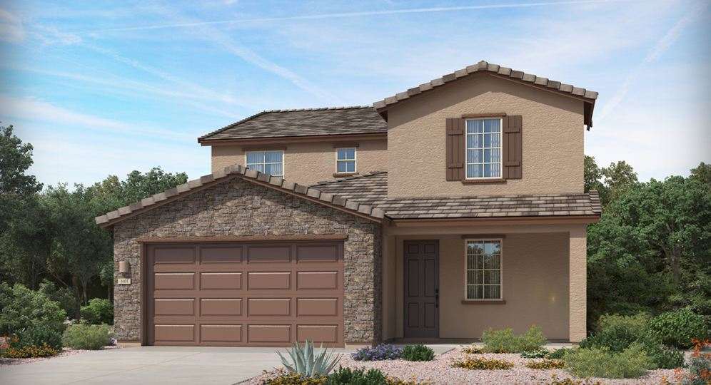 New homes in Rancho Sahuarita showcasing modern designs and exciting amenities