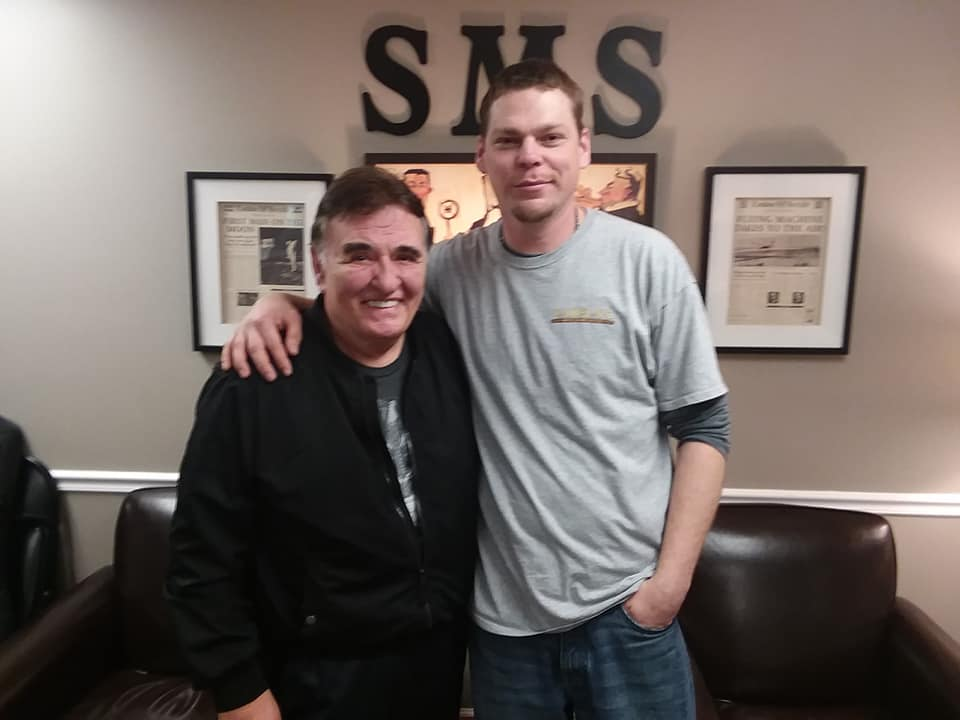 Century II Records CEO Allen Karl with Recording Artist Matt Boone