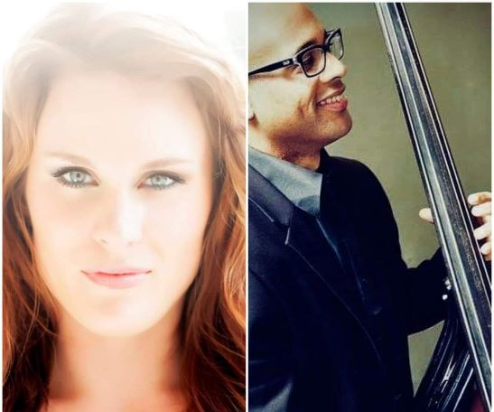 "Jazz Duo Anna Louise Andersson and Bassist Alex ""Apolo"" Ayala"