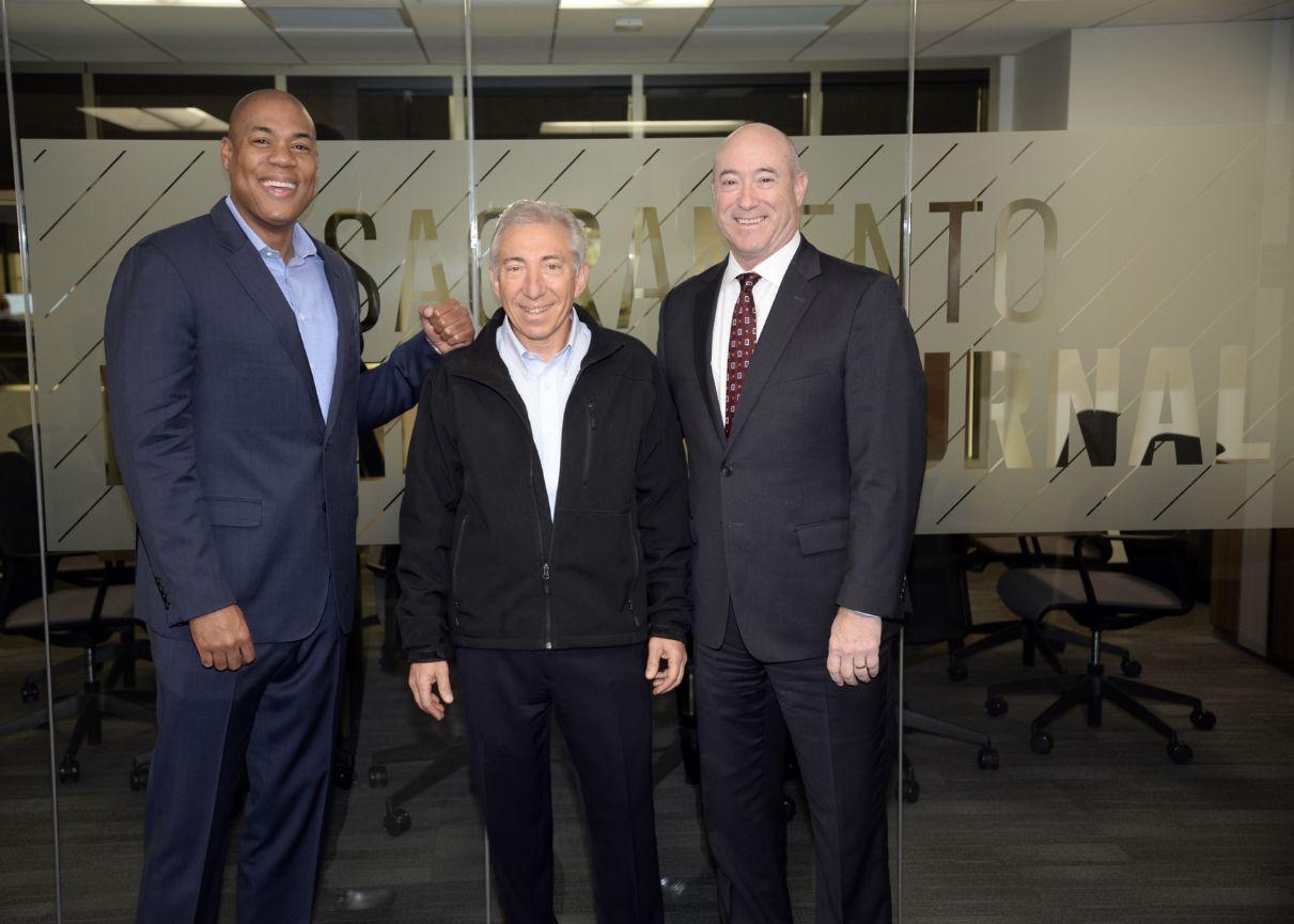 George Foreman Jr., Dave Sanders and David Lichtman