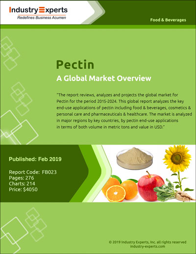 Pectin – A Global Market Overview
