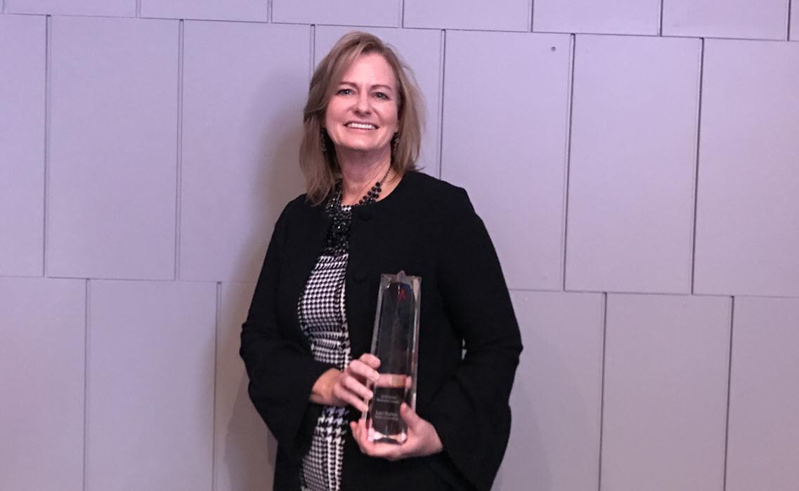 Lori Kaiser Receives 2019 Columbus Chamber Small Business Leader Award