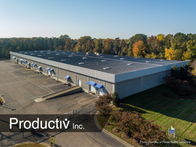 Productiv recently moved into this new Richmond, VA facility to support growth.