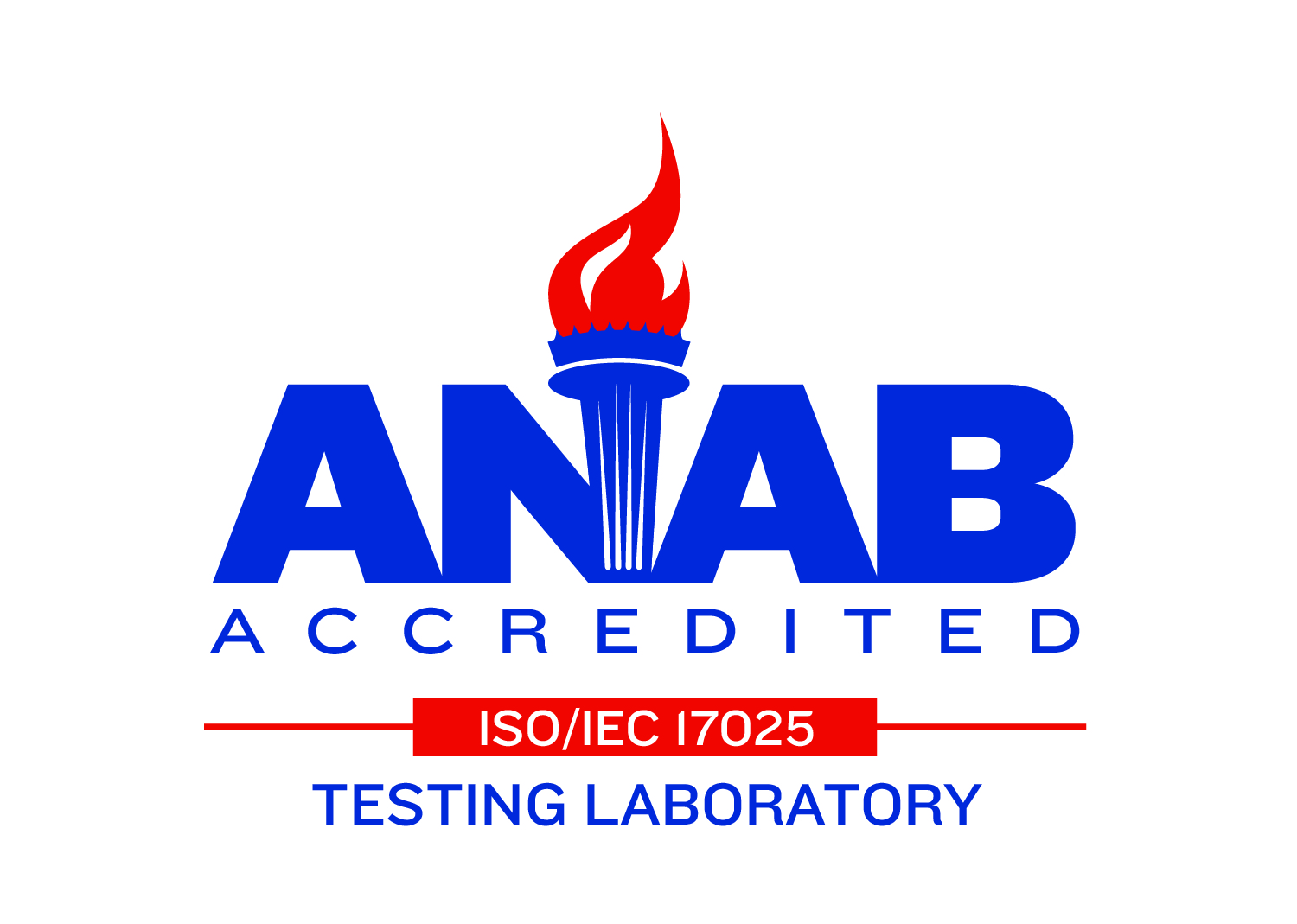 ACT is one of a select few ISO 17025 accredited labs in the industry.