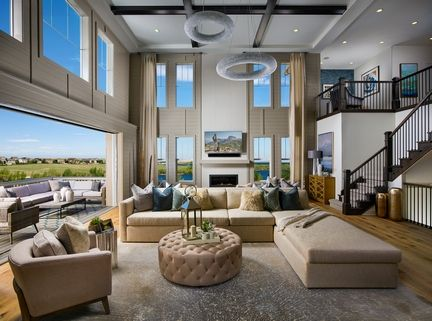 Toll Brothers Orion Model Home