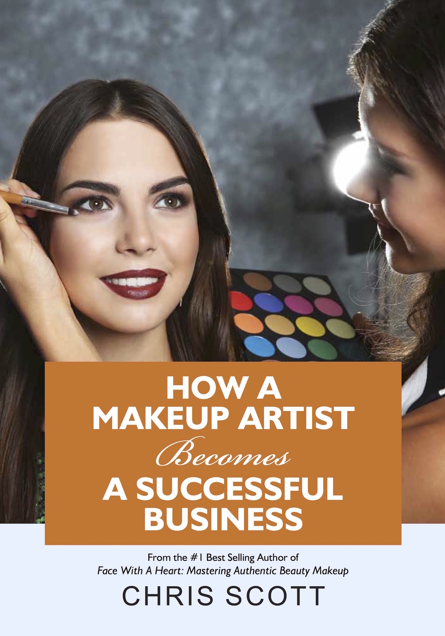 New book defines clear steps towards a makeup artist's success.