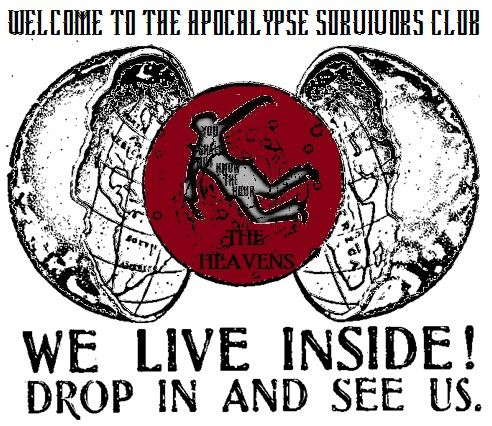 flyer for Welcome to the Apocalypse Survivors Club