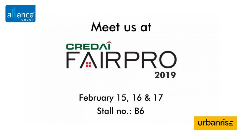 Alliance & Urbanrise participating in Fairpro 2019