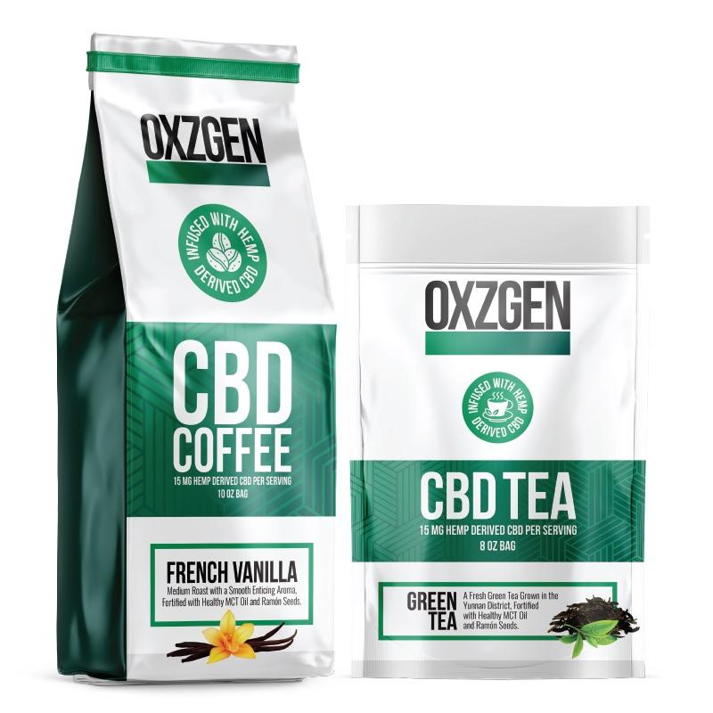OXZGEN CBD Coffee & Tea
