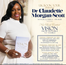 Dr.Claudette Morgan-Scott International Tour & Book Launch