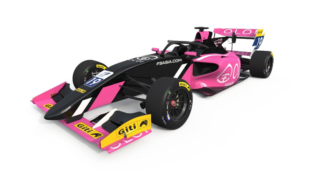 OLOI-BAR Asia F3 race car