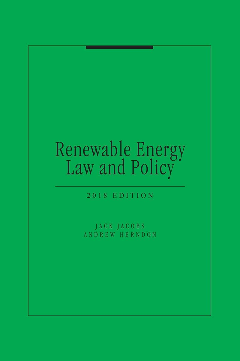 """Cleantech Law Partners Publishes New Book """"Renewable Energy Law & Policy"""""""