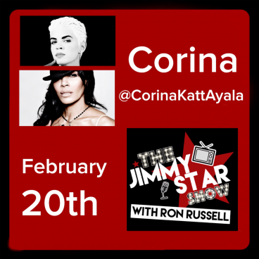 Corina on The Jimmy Star Show With Ron Russell
