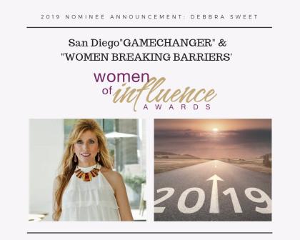 Debbra Sweet Woman of Influence Nominee 2019