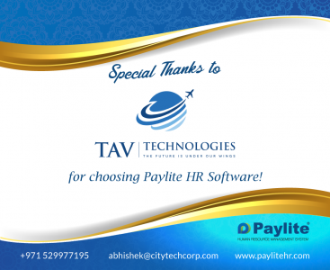 Paylite HR Software and Oracle are integrated