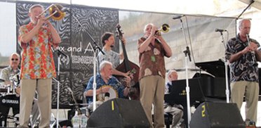 New Black Eagle Jazz Band at Newport Jazz Festival