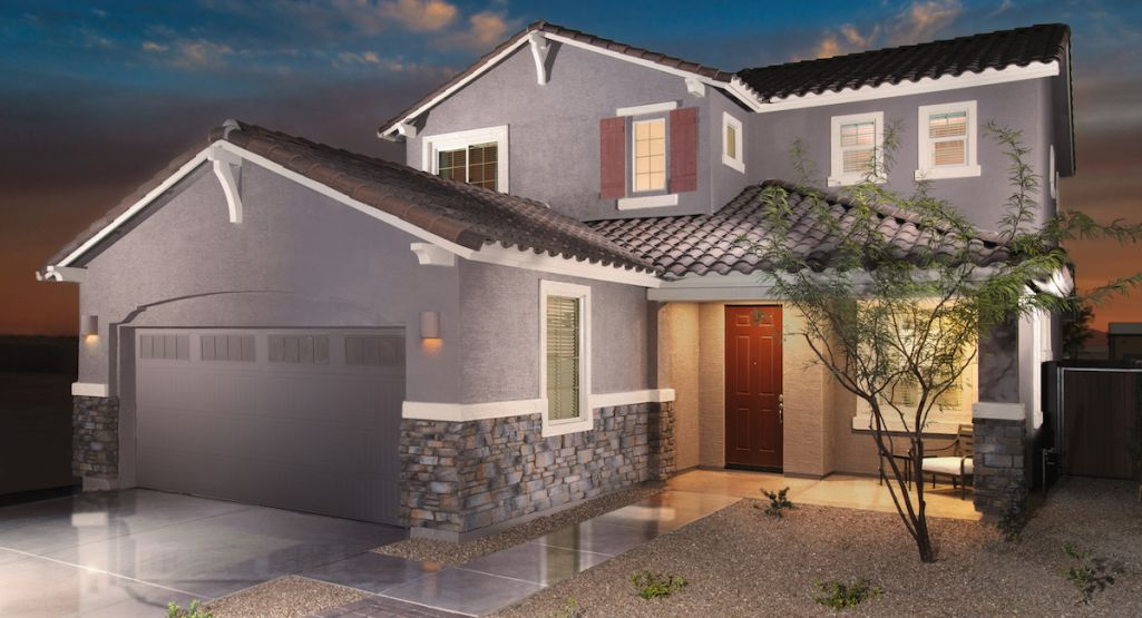 New homes for sale in Phoenix set within an amenity-rich masterplan
