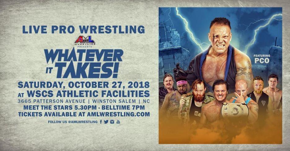 whatever it takes AML Wrestling