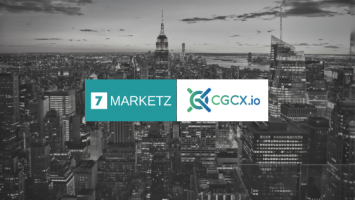 7MARKETZ joins forces with CGCX.io