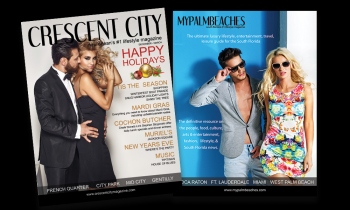 Crescent Cty and My Palm Beaches Magazines