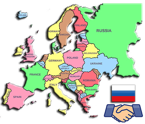 Europe is the largest trade partner of Russia