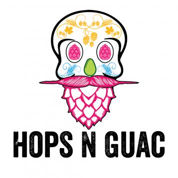 Hops N Guac Logo white background