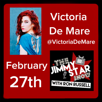 Victoria De Mare on The Jimmy Star Show With Ron Russell