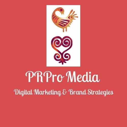The logo for PRPro Media