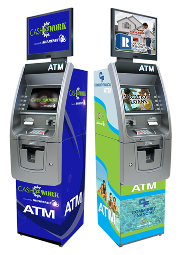 Cash at Work ATM Program for Financial Institutions