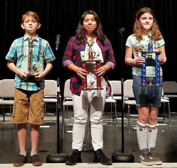 AJUSD spellers make top 10 in county competition.