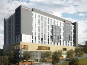 Courtyard Residence Inn Knoxville Downtown Rendering