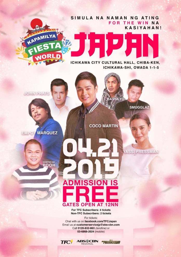 "Kapamilya Fiesta World Japan with the cast of ""FPJ's Ang Probinsyano"""