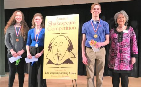 (L to R) Aliyah Pullin, Ashley Schwach, Matthew Grigoratos, Deborah McArdle