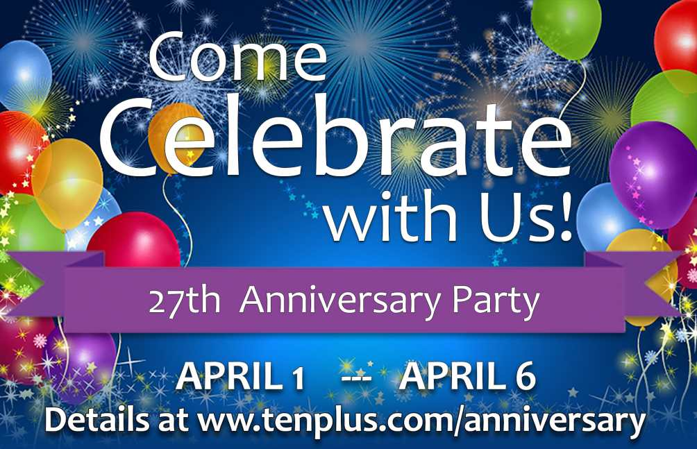 TenPlus Systems Anniversary Celebration