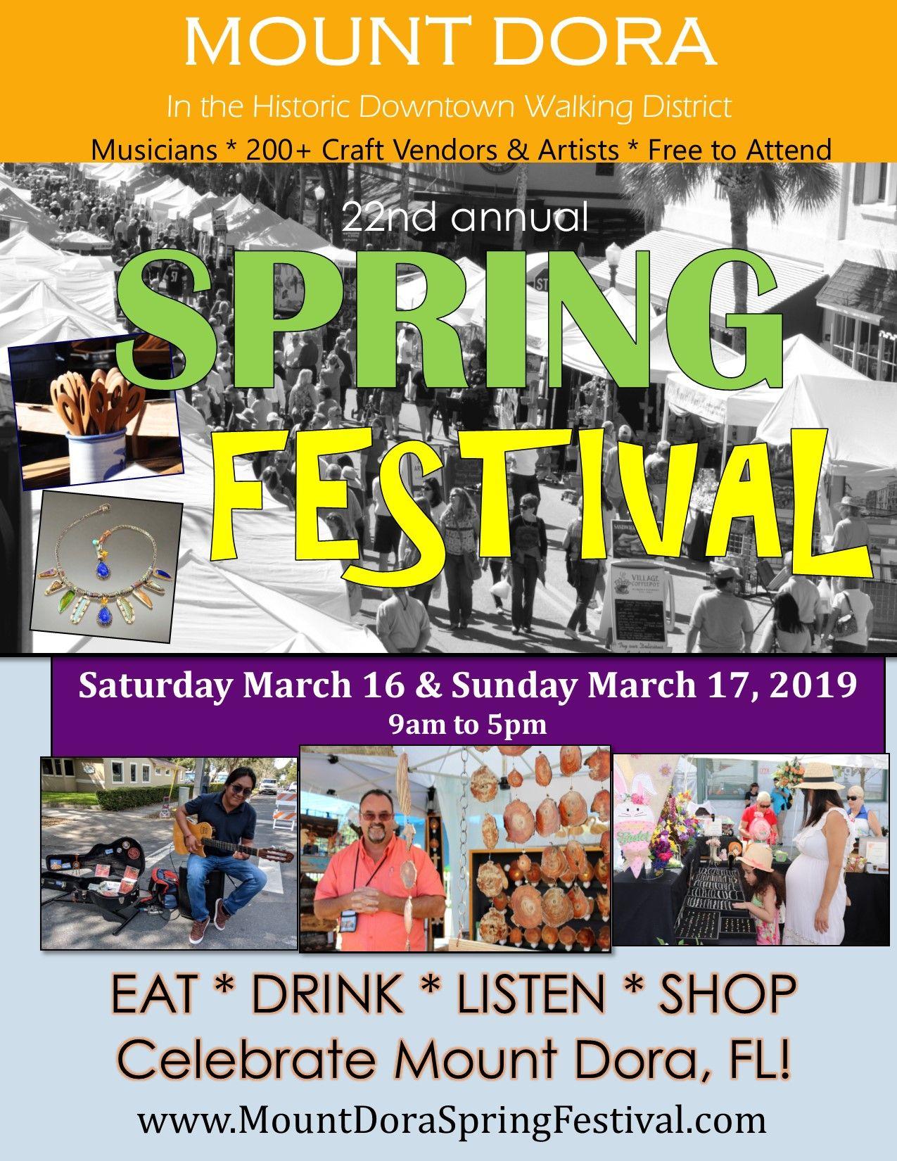 Spring Fest 2019 Poster